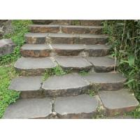 Buy cheap Garden Natural Paving Stones Hard Cobble Basalt Stone Construction product
