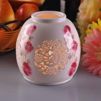 Buy cheap Personalised Ceramic Candle Holder Handmade Heat Resistant ASTM Test product