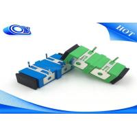 Buy cheap Duplex Sc Apc Adapter with Metal Foot for PCB Circuit Board IL<=0.2dB product
