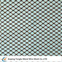 Buy cheap Expanded Metal Square Mesh |Sheet size 1,25x2,5m product