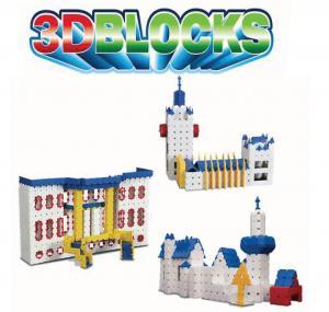 los juguetes del bloque 3D, los nuevos juguetes asombrosos de la construcción, aclaran los juguetes del niño. 62001