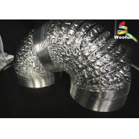 China Grow Tent Aluminum Foil Ducting Polyester Sizes Customized Flexible Ducting wholesale