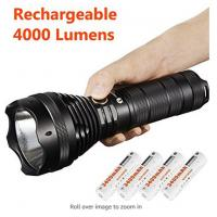 Waterproof Lumintop Sd75 Xhp70 Flashlight , Portable LED Security Flashlight for sale