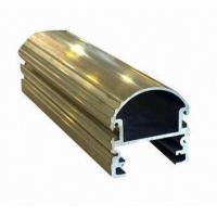 Steel Polished Structural 6061 Aluminum Profile , Wood Grain Coated Extrusion Aluminum Profiles