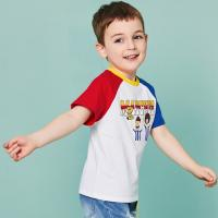 Buy cheap O - Neck Cotton Children's Style Clothing Color Combination / Baby Boy T Shirt product