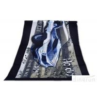 Super Soft Durable Velour Beach Towels Personalized For Family