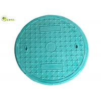 Buy cheap GRP Composite Manhole Covers Circular Frame Polymer Resin Foundry Well Grating product