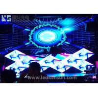 Buy cheap Epistar P4 Indoor Stage LED Screens High Definition / 1R1G1B Stage Background LED Display product