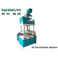 Buy cheap Hot - Pressing Shaping Paper Pulp Molding Machine For Industrial Packing Trays product