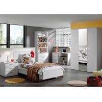 Buy cheap White Color Childrens Bedroom Furniture Sets High Gloss / Melamine Finished product