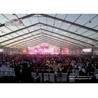 Buy cheap 50m Aluminum Frame Party Tent Clear Water proof PVC Cover And Sideall Outdoor Event product