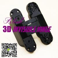 China Opening 180 Three Ways Italian Hinges Adjust Hidden Concealed 3D Invisible Hinge wholesale