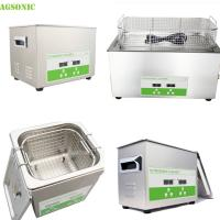 Buy cheap Stainless Steel Tray And Cover Heater And Timer Digital Ultrasonic Cleaner product