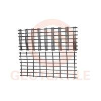 Buy cheap Airport / Railway Road Knitted Geotextiles , Alkali Resistant Gravel Geogrid product