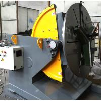 Buy cheap T - Slots Manual Welding Positioners , 500 Diameter Welding Chuck Welding Positioner Turntable  from wholesalers
