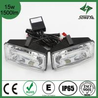 China SUV LED car Light 2014 ATV 4X4 and LED Truck light square LED work light high power 15w 1500lm LED searchlight SY-008X3 on sale