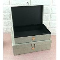 Buy cheap Luxury Rigid Cardboard Custom Printed Jewelry Boxes , Jewelry Gift Boxes With Closure product
