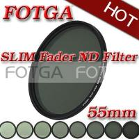 Buy cheap Do filtro magro do ND do Fader da câmera do OEM Fotga 55mm Digitas SLR densidade neutra ND2 a ND400 product