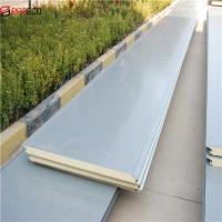Buy cheap Easy Installation Insulated Weevilproof PU Sandwich Wall Panel product