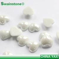 Buy cheap Factory sale pearl crystal hotfix, pearl crystal flat back, pearl crystal for garment product