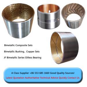 Buy cheap precio bimetálico bimetálico del comeptitve de la buena calidad de la fábrica de China del arbusto del buje del reborde de la manga del buje de steel+copper que forra product