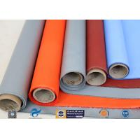 Buy cheap Plain Weave Thermal Insulation Materials Silicone Coated Fiberglass Fabric product