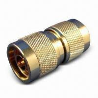 Buy cheap RF Coaxial Connector N Plug to N plug/Adaptor with Brass and Nickel Body product