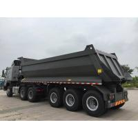 Buy cheap 3 axles U shape 40 tons load capacity good quality rear dump tipper semi trail for sale product