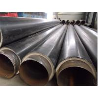 Buy cheap API 5L / API 5CT HDPE Insulated Steel ERW / SSAW Pipe For Water Pipe , Large Diameter product