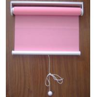 Buy cheap spring 100% polyester fabric roller blinds for windows with aluminum headrail and toprail product