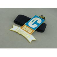 Quality Soft Enamel Ribbon Medals Zinc Alloy Personalised Medal For Teen Leader for sale