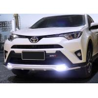 Buy cheap TOYOTA 2016 RAV4 Plastic Front Bumper Guard With LED Light And Rear Guard from wholesalers