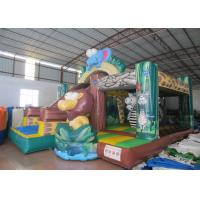 Buy cheap Forest themed inflatable safari park combo China inflatable safari combo animals combo product