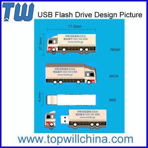 Capacidade do PVC USB Flashdrive 2GB 4GB 8GB 16GB 32GB do costume do projeto de Original Empresa