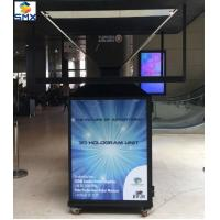 Buy cheap 4 Sided Pyramid holographic 3d display Units for POS Advertising product