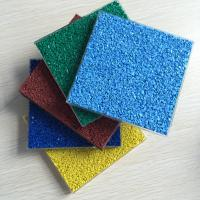 Buy cheap Colored Sports Epdm Rubber Granules , Multi Purposed Colored Rubber Granules product