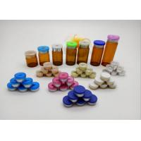 Buy cheap Medical Packing Glass Vial Caps / Aluminium Flip Off Seals For Oral Liquid Bottle product
