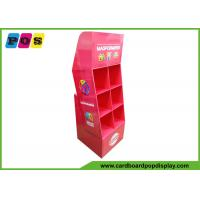 Buy cheap Advertising Cardboard PDQ Retail Display 6 Cells For Point Of Purchase POC043 product