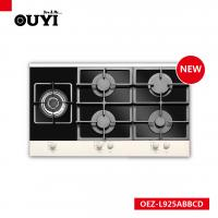 Buy cheap sabaf burner gas hobs gas cooker gas stove 5 burner CE CB good quality from wholesalers