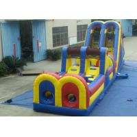 Buy cheap Giant Customized Obstacle Course Jumpers Classic Inflatable Obstacle Course For Competition product