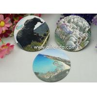 Buy cheap Logo print mirror type thin piece fridge magnets custom with any image design product