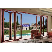 China Water Proof Double Glazed Aluminium Doors on sale