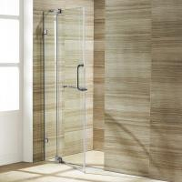 China Wholesale Custom Stainless Steel Sliding Glass Free Standing Shower Enclosure on sale
