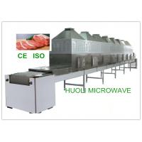 Buy cheap Continuous Belt Type Frozen Food Thawing Machine , Microwave Thawing Equipment product