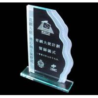 Buy cheap acrylic trophy,clear acrylic trophy,acrylic trophy block product