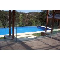 Buy cheap Nice tempered glass pool fence panels/safety fence for pool product