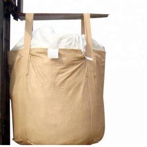 Buy cheap 1000kg - 2000kg Recycled Jumbo Bag , Custom Size / Color Woven Jumbo Bags product
