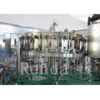 Buy cheap Customized Carbonated Drink Filling Machine 220V Soft Drinks Filling Machine product