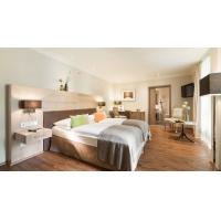 Buy cheap King Size Modern Boutique Hotel Custom Bedroom Suite Wooden Furniture Set product