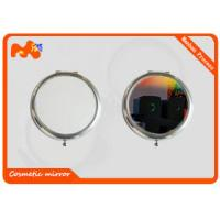 Buy cheap Silver Ladies Sublimation Compact Mirror With Pre Painted Pictures product